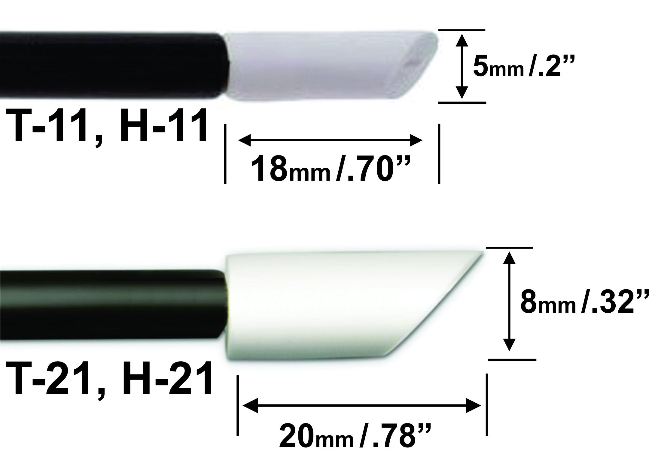 Rubystick T-11 T-21 Clean Stick