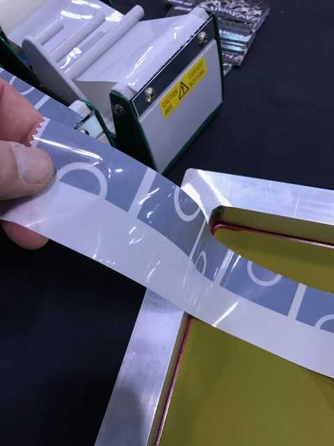 Split Frame Tape