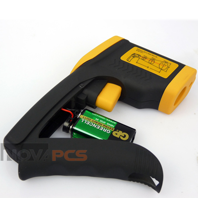 Temp gun 9v battery