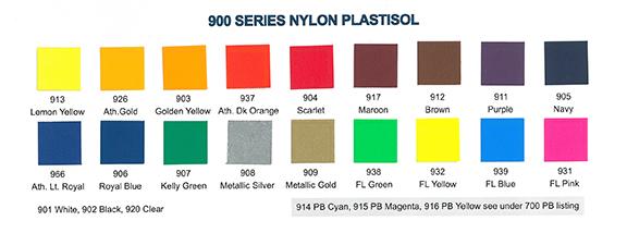 900 Series Nylon (Low Temp Cure)