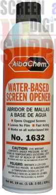 AlbaChem Water-Based Screen Opener