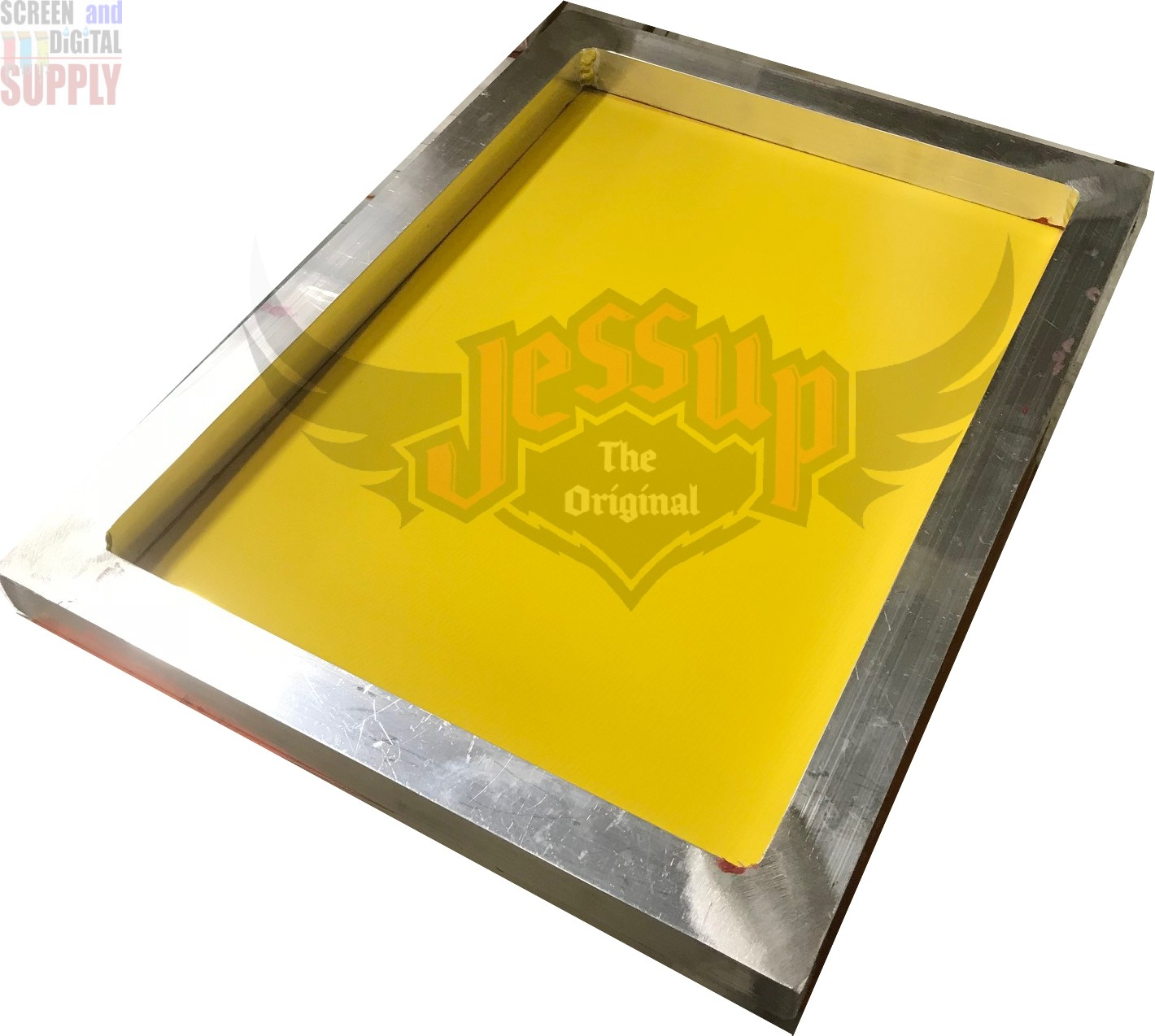 12x16 Aluminum Frame with High Tension Mesh