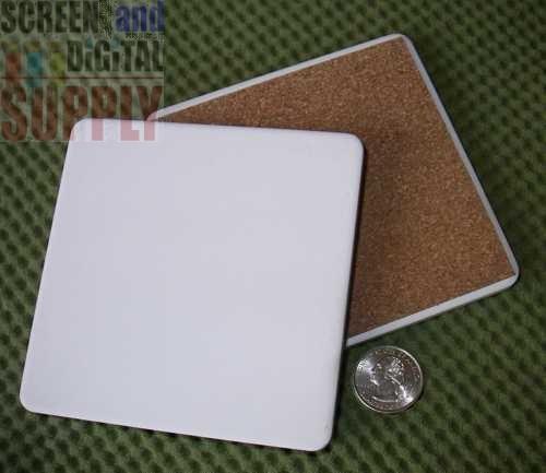 4 25 Quot Square Ceramic Soaker Coaster Inkjet Printables