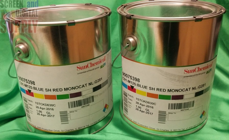 Sun Chemical C91-M125 Red Monocat