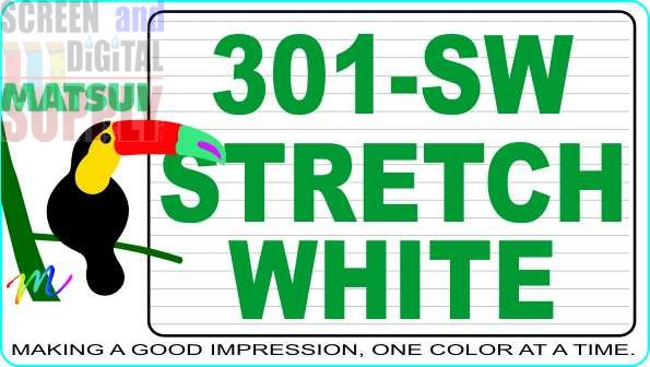 Matsui 301-SW Super Stretch White Waterbase