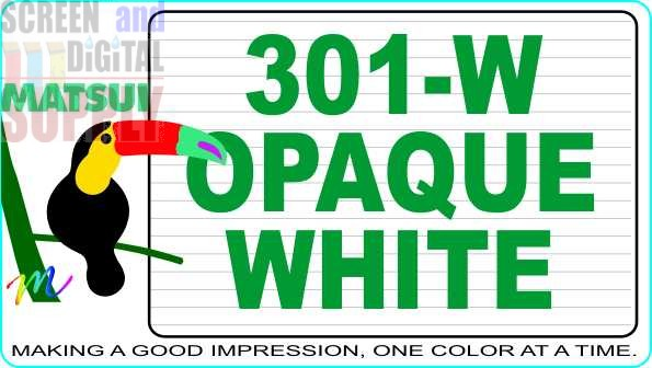 Matsui 301-W Opaque White ECO-Series Textile