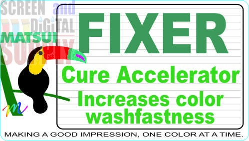 "Matsui FIXER ""N"" and ""F"" Cure Accelerators"