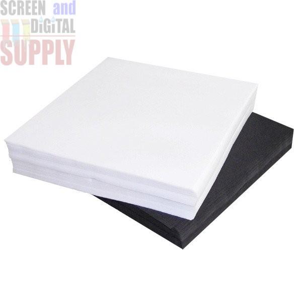 Premium Strike Off Test Print Squares White and Black