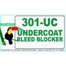 Matsui 301-UC Undercoat Bleed Blocker
