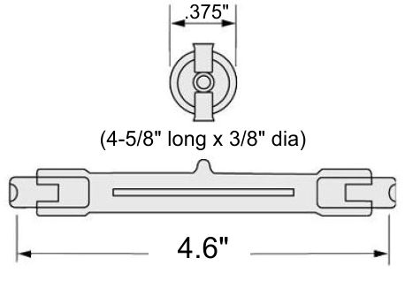 BTFCM Exposure Bulb Dimension