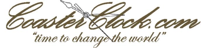 Coaster Clock Logo