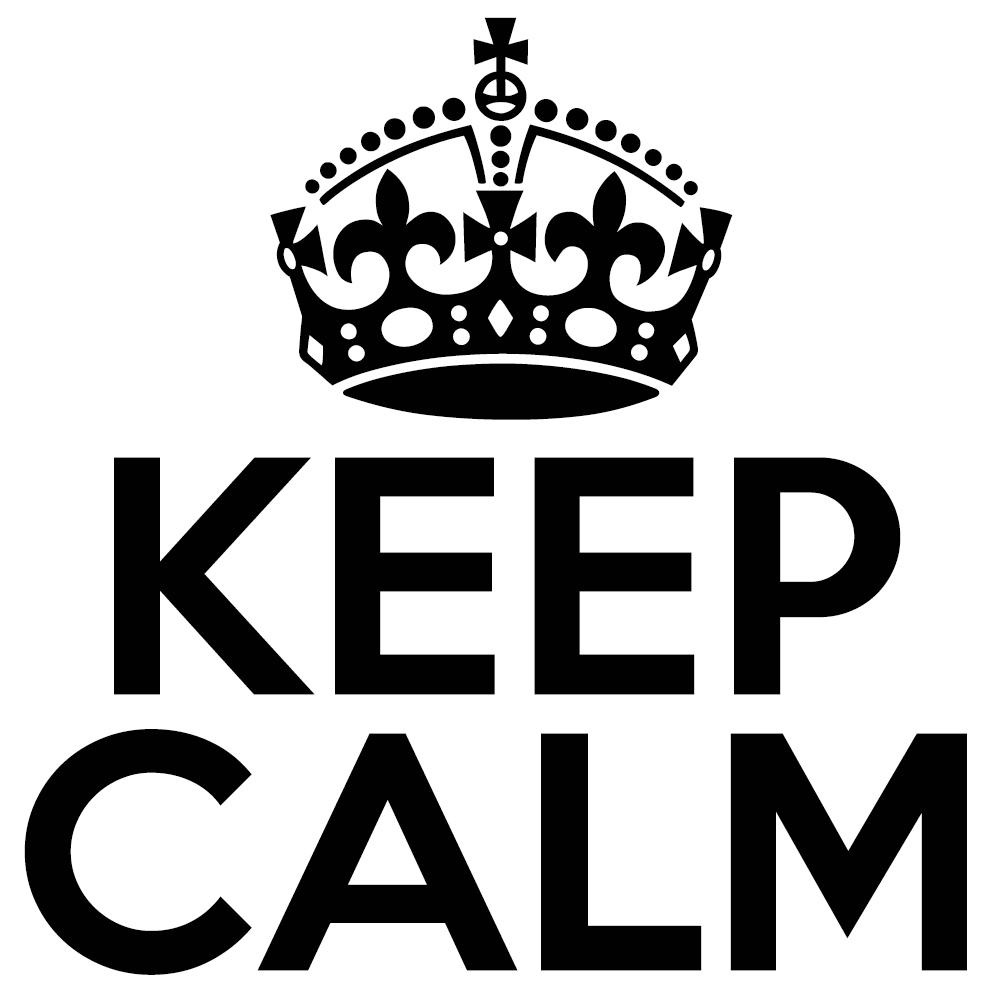 Stay Calm & Print