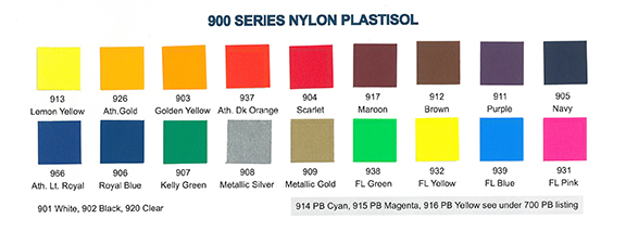 900 Series Nylon (Low Temp Cure)