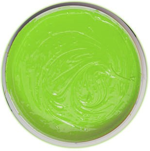 International Coatings 7525 LF Fluorescent Green Color Mixing System Plastisol