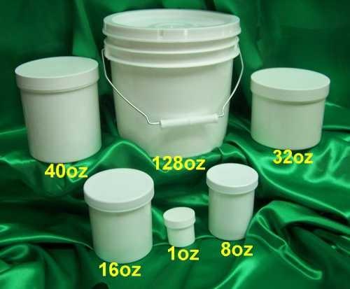 MT Plastic Jars & Bucket