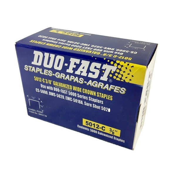DuoFast 5012C Staples