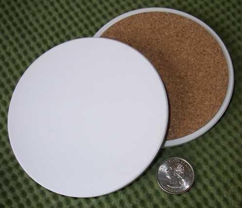 InkJetPrintables Ceramic Coaster