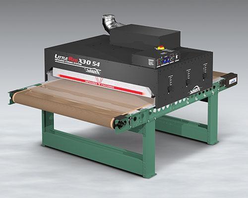 "Vastex Little Red X3-D 54"" Conveyor Dryer"