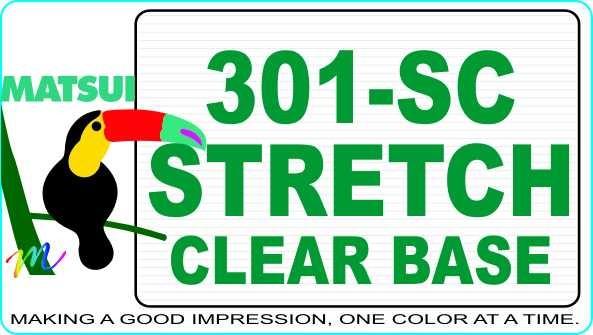 Matsui 301-SC Stretch Clear Base