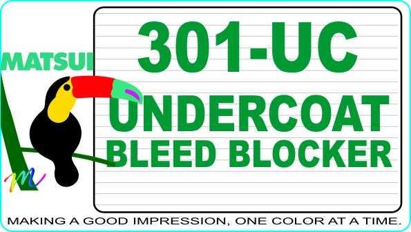 Matsui 301-UC Undercoat Bleed Blocker