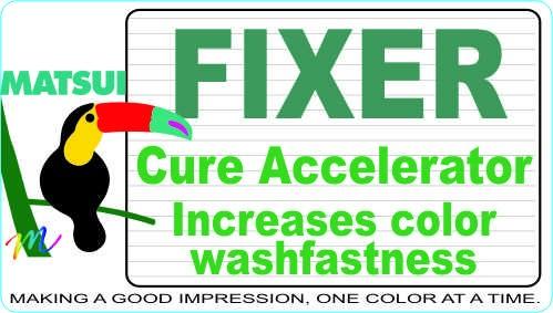 "Matsui FIXER ""N"" and ""F"" Cure Accelerators"