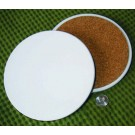 "InkJetPrintable 7"" Diameter Ceramic Coaster - Trivet"