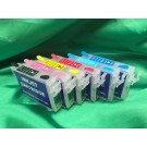 Epson 1430 Refillable Ink Cartridges (Set of 6)