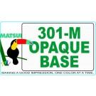 Matsui 301-M Opaque Base ECO-Series Textile